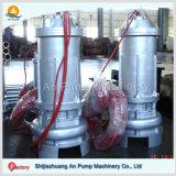 Bomba centrífuga submergível de tratamento de água de esgoto do Wastewater com motor submergível