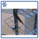 Heißer Verkaufs-Fußboden-Regenschirm-Metallbildschirmanzeige-Zahnstangen-Standplatz für Speicher