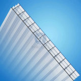 3-Wall Triple Wall Polycarbonate Plastic Sheet con UV