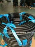 Boyau à haute pression de combustible dérivé du pétrole de tresse de textile de tissu de fibre
