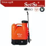 15L Aprovado pela CE Backpac Eléctrica/Bateria/Mochila pulverizador agrícola (SX-MD15DA)