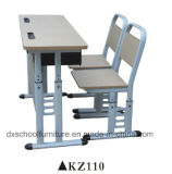 La Escuela Secundaria estudiante muebles mesa y silla para el estudio KZ110