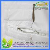 Cubierta de colchón impermeable del cierre relámpago de la prueba del fallo de funcionamiento de base del premio el 100% de la defensa del sueño