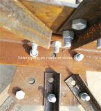 Tour en acier galvanisée de trellis de cornière d'IMMERSION chaude
