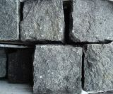 На мокром асфальте черного цвета Zhangpu базальтовой Найджелом Пэйвером камня, темный базальтовой, керамической плитки, Cubestone