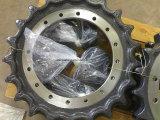 Le pignon de la pelle chargeuse pièces de rechange du châssis porteur de nivelage