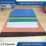 Красочные PP гофрированный лист Coroplast пластмассовых листов системной платы
