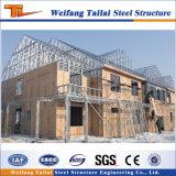 Estrutura de aço pré-fabricadas em aço de materiais de construção do projeto Casa House