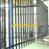 Barriera di sicurezza d'acciaio di alluminio ornamentale