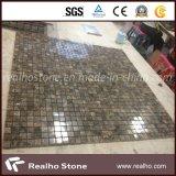 Buone mattonelle di mosaico di marmo di Marron Emperador di prezzi