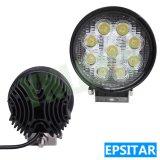 lumière fonctionnante automatique extérieure de travail de la lampe DEL de 27W 4.5inch Epistar