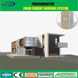 Casa prefabricada solar prefabricada nuevamente diseñada del bajo costo de la casa
