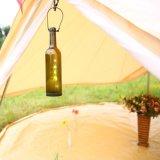 3m/4m/5m/6mの防水贅沢なキャンバスのサファリのホテルの鐘テント