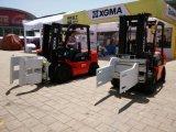 6-wielen Diesel Vorkheftruck met Motor Isuzu voor het Verschillende Gebruik van Gebieden