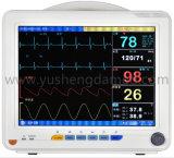 Aprobado CE Monitor de paciente de 12 pulgadas de pantalla digital de parámetros múltiples