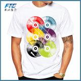 Enregistrement personnalisé imprimé Hommes T Shirt Short Sleeve occasionnel
