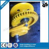 Torno de la mano de la cuerda de alambre del torno del cable de la calidad