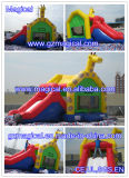 Bounce House with Slide Castle Inflável Bouncer Slide Combo (MIC-989)