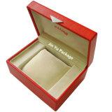 Verpakkende Doos van het Horloge van de Armband van de Juwelen van de Gift van het Hoofdkussen van het Fluweel van de douane de Met de hand gemaakte Unieke