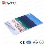 Cartão Printable do transporte público de MIFARE RFID para a impressora da zebra