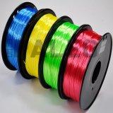 Нить принтера 3D ABS 1.75mm PLA цвета OEM изготовленный на заказ для сбывания