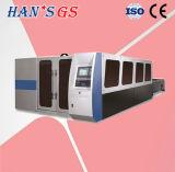 Nuova tagliatrice del CO2 dell'acciaio inossidabile della fibra/laser della fibra (GS-LFD3015)