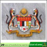 Emblème national de la Malaisie en métal