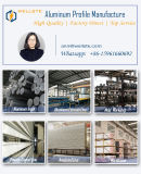 Protuberancia de aluminio anodizada 6063 del tubo de aluminio redonda/cuadrado/tubo oval