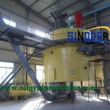 El aceite de cocina Aceite de cacahuete Fabricante de maquinaria de la planta del sistema de extracción por solvente