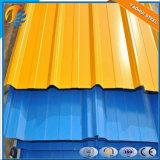 Lo strato del tetto del rifornimento/lamiera di acciaio /Color ricoperto ha galvanizzato la lamiera di acciaio ondulata della lamiera di acciaio per il tetto della costruzione
