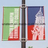 Bride de drapeau de Pôle de rue de la publicité extérieure (BS66)