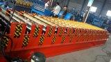 Roulis en acier glacé coloré de tuile de toit de Dx 1100 formant la machine