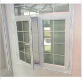 نماذج رخيصة مزدوجة زجاجيّة [فرنش] ألومنيوم شباك نافذة