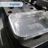 Recipiente de alimentos de alumínio tornando preço baixo da linha de produção da Máquina