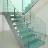 12мм пользовательский размер ясно многослойное безопасное стекло