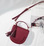 Nuovo sacchetto su ordinazione liscio delle donne di Crossbody della spalla del cuoio genuino