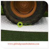 Schwarzes Farben-HDPE aufbereiteter materieller Hochleistungsmattenstoff für größere Zugriffs-Fahrzeug-Straßen-Matte