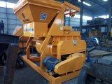 Concrete Mixer van het Type van Js500 de dubbel-Schacht Gedwongen