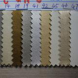 Cowskinの穀物靴のライニング(HST027)のための総合的なPUの革