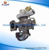 Turbocompressor de autopeças para Mitsubishi 4D56 TF035 Gt1749s/GT1749/GT17/TD04/TD04-11g-4