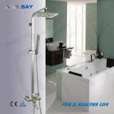 Nécessaire réglé de robinet de compartiment de douche en laiton bleue de Bath avec l'homologation de la CE