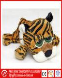 Het leuke Stuk speelgoed van de Luipaard van de Pluche van de Mascotte van de Club van de Voetbal