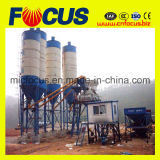 Planta de mezcla concreta automática del PLC, planta de procesamiento por lotes por lotes concreta Hzs90