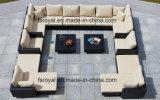 Los nuevos conjuntos de sofá mimbre mimbre sofá de jardín al aire libre el vestíbulo del hotel mobiliario de patio