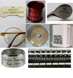 30W 50W Faser-Laser-Rohr-Markierungs-Maschinen-Reifen-Gravierfräsmaschine