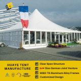 屋外のイベント(GAZ10M)のための白いPVCファブリックが付いている10X10mの望楼のテント