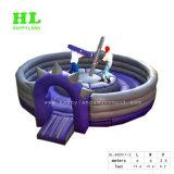 Customized Developmental Bossaball Inflatable Sport Games for Kids Outdoor Exercising Activities