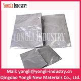 Encerado de prata resistente UV resistente super do HDPE