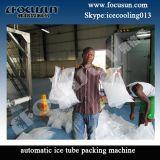 Macchina di ghiaccio del tubo di Focusun 20ton con l'insacchettatrice automatica del ghiaccio