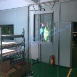 Visualizzazione di LED trasparente esterna di vetro di P5 Idoor